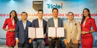 Teleport and Triple i Logistics Sign MoU for Thailand JV
