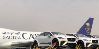 Saudia Cargo Transports Formula-E Cars from Europe