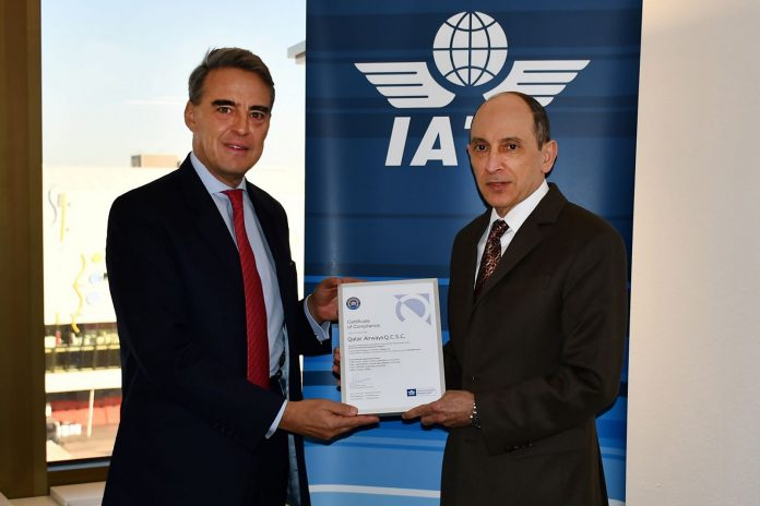 Qatar Airways Successfully Renews Certification of its Environmental Management System