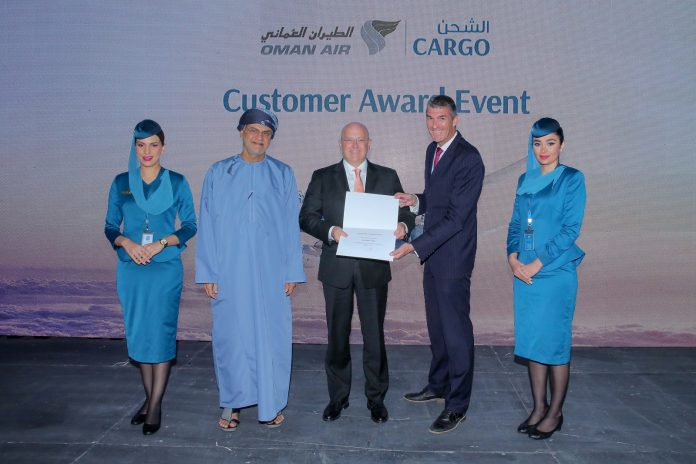 Oman Air Cargo Awards Jettainer for