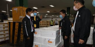 Thailand Deputy Transport Minister Visits THAI Cargo and Catering