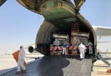Volga-Dnepr Delivers 48 Sterilization Trucks to Dubai