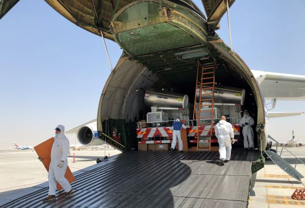 Volga-Dnepr Delivers 48 Sterilization Trucks to Dubai