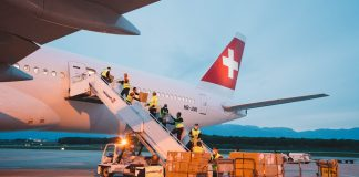 Swiss WorldCargo Operates First Cargo-only Flight from Shanghai to Geneva