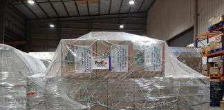 FedEx Delivers Relief Shipment to U.S. in Fight against COVID-19