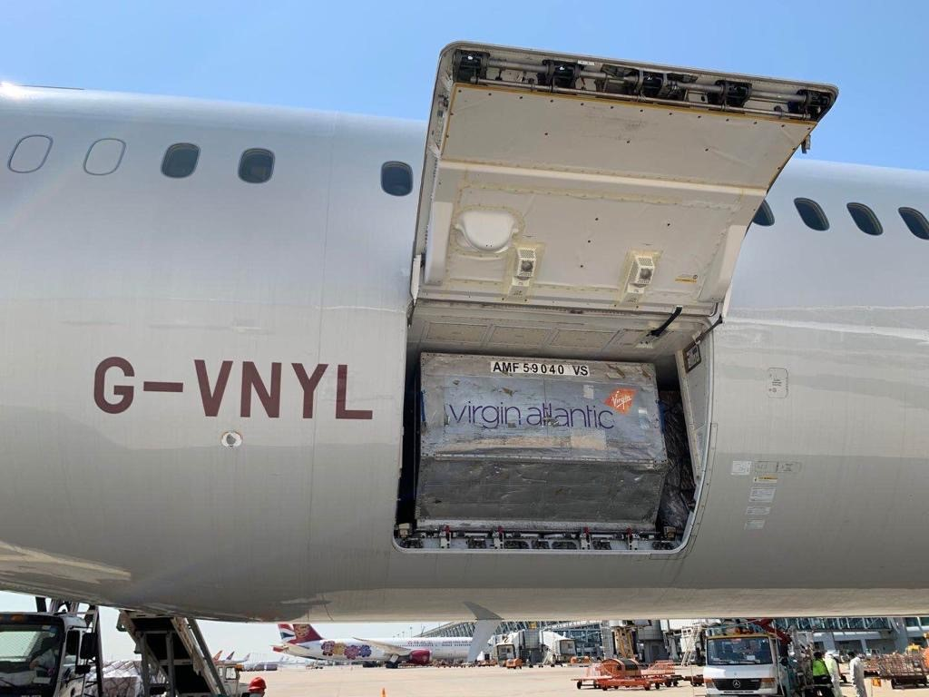 Virgin Atlantic to Deliver Over 43 million Items of PPE and Medical Supplies to the UK from China