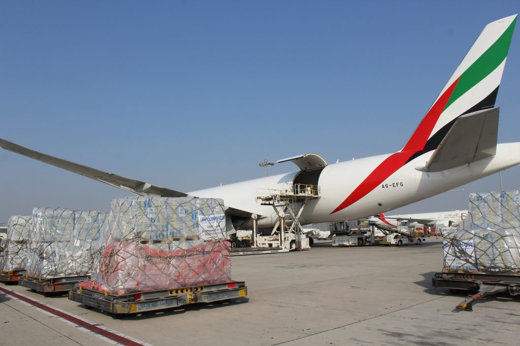 Emirates SkyCargo Delivers Aid to Burkina Faso