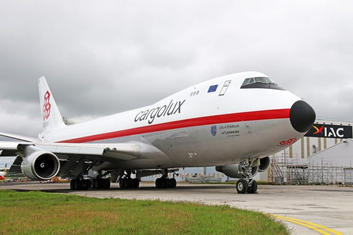 Cargolux Welcomes Retro-branded Aircraft