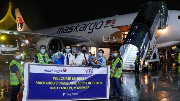 MASkargo Launches New Freight Service Connecting Yangon – Bangkok – Kuala Lumpur