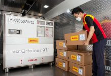 DHL Express Transports 310 tons of Covid-19 Diagnostic Kits from Korea