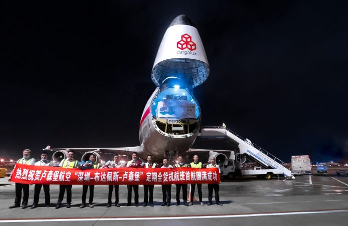 Cargolux Adds Shenzhen to its Global Network