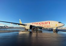 Ethiopian Cargo Launches Trans-Pacific Charter Service Incheon to Atlanta via Anchorage