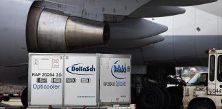 Delta Cargo's New High-Tech Cooler Allows Safer Transportation of Vaccines