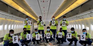 dnata Hits 5,000 Cargo-in-cabin Flights Milestone