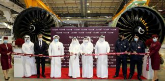 Qatar Airways Opens New State-of-the-Art Engine Facility
