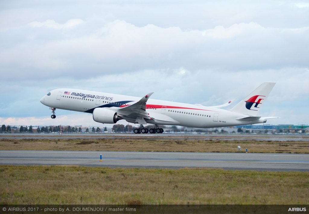 Airbus and Malaysia Airlines Extend Widebody FHS Contract