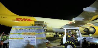 DHL Delivers First Batch of Pfizer Covid-19 Vaccines and Diluents to the Philippines