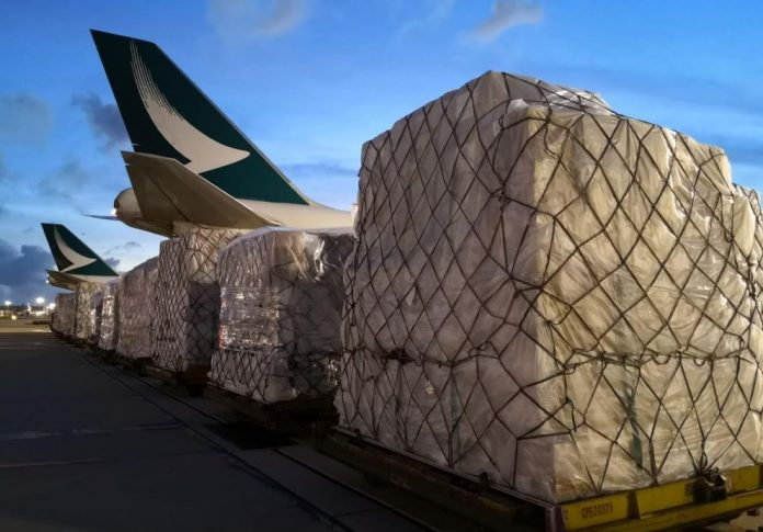 Cathay Pacific Cargo Delivers Medical Supplies for India