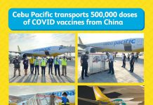 Cebu Pacific Transports 500,000 Doses of Sinovac Vaccines from China
